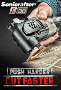 PUSH HARDER<br>CUT FASTER