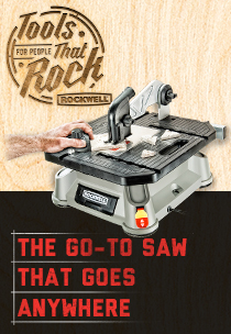 THE GO-TO SAW<BR>THAT GOES ANYWHERE