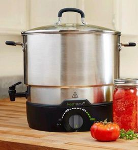 Electric Water Bath Canner + Multi-Cooker