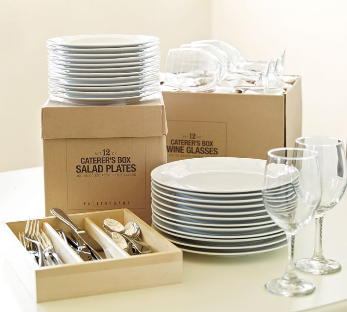 Caterer's Dinnerware 4 & 12 Piece Sets