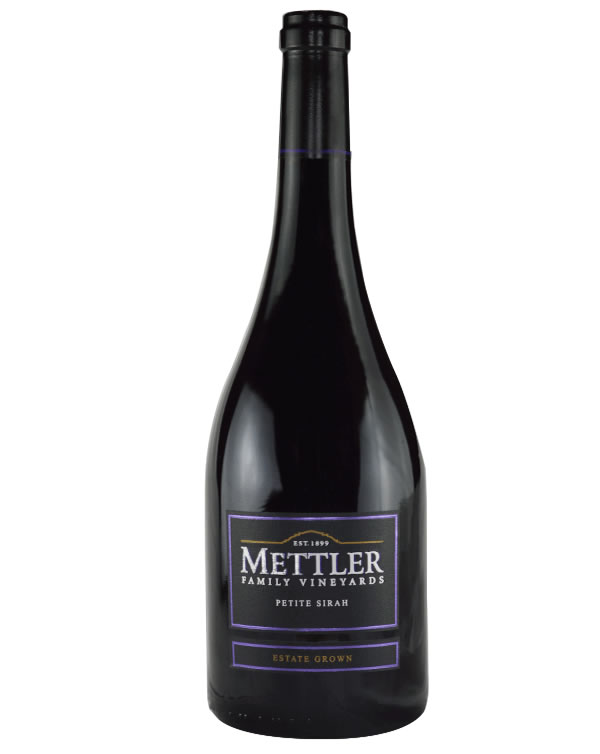 METTLER FAMILY VINEYARDS 2013 PETITE SIRAH (SRP $25.00) WITH SLOW BRAISED BONELESS BEEF SHORT RIBS