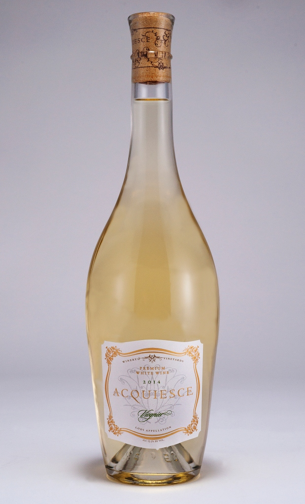ACQUIESCE WINERY & VINEYARDS 2014 VIOGNIER (SRP $23.00) WITH ROASTED BUTTERNUT SQUASH BISQUE