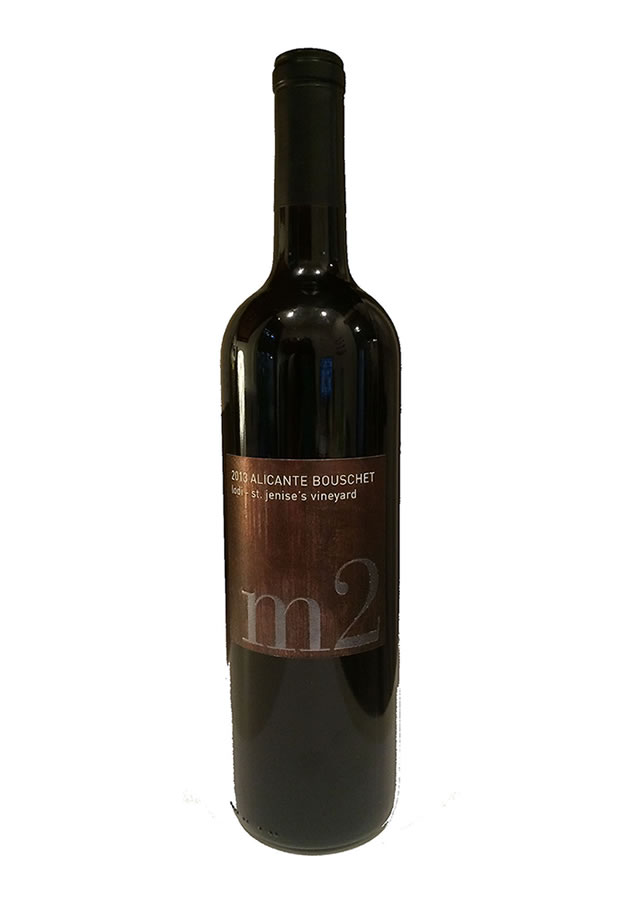 M2 WINES 2013 ALICANTE BOUSCHET (SRP $26.00) WITH MARINATED & SMOKED PAPRIKA GRILLED PORK TENDERLOIN