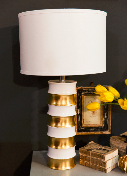 Lacquer Lamp with Gilding